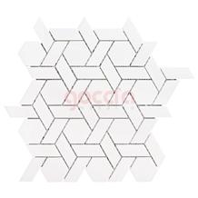 Azalea Mosaic Bianco Dolomiti Marble Mosaic