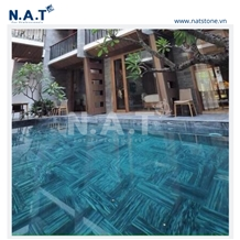 Striped Grey Paver for Swimming Pool