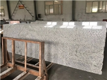Brazil White Ravine Granite Slab Polished Prefab Kitchen