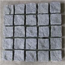 China Grey Granite Brick Cube Paver Stone Exterior