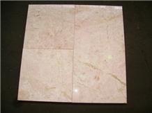Desert Pink Marble Tile, Bathroom Floor Covering