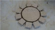 G682 Yellow Rust Granite Bricks Cube Stone Pavers