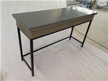 Grey Quartz Stone Solid Surafce Table Top