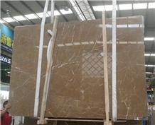 Quarry Owner - Kazoffie Brown Marble Slab Polished