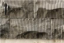 Black Basalt Alabama Split Wall Stone