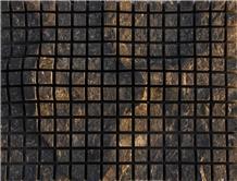 Black Basalt Seesaw Split Building Stone