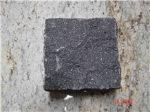 Black Granite Cobble Stone