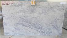 Caspian White Granite Slabs