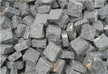 Cobbles Grey Granite Handcut Cubes