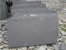 Greyish Black Slate Tiles