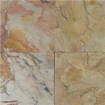 Indian Autumn Slate Slabs & Tiles