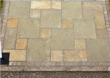 Limestone Pattern Natural Brown