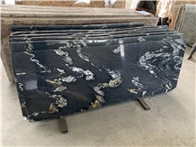 Fusion Black Granite Slabs
