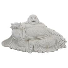 Chinese Handmade Stone Carving Of Buddha Statue