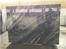 Black and Gray Marble Slabs