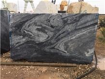 Persian Gray and Black Marble Block