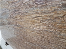 Wallnut Travertine Slab