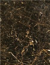 Golden Black Marble