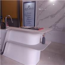 Corian Quartz Stone Kitchen Countertop