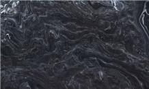 Marmore Noir Black Fiorentino Marble Slabs