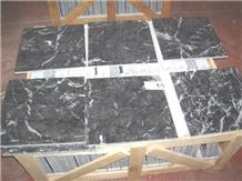 Grigio Carnico Marble Tiles, Italy Grey Marble