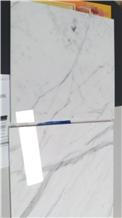 Statuario Venato Marble Tiles, White Marble Italy