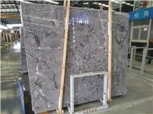 China Eagle Grey Marble Slab Polished, Hotel Floor