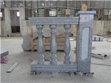 China Grey Granite Stair Balustrade & Hand Railing