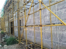 China New Viscont White Granite Wall Masonary Tile