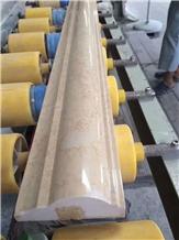 Galala Beige Marble Polished Customized Moulding