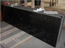 India Black Star Galaxy Granite Slab, Floor Tile