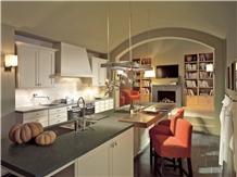 Pietra Grey Quartz Stone Island Table Countertop