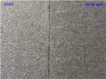 Vietnam Black Basalt Flamed Brushed Tiles Flooring