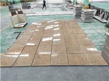 Vietnam Rust Granite Yellow Stone Floor Tiles