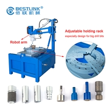 Button Bits Sharpening Grinding Tool Machine