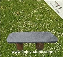 Black Square Bench Garden Bench/ Outdoor Bench