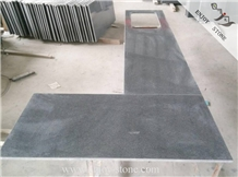 G654 Polished Grey Granite Kitchen Countertops