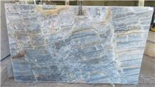 Essenza Blue Quartzite Slabs, Brazil Blue Quartzite