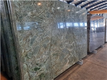 Birjand Forest Green Marble Slabs