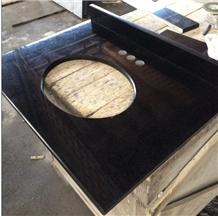 Fuding Black Pearl Bath Top G684 Countertop