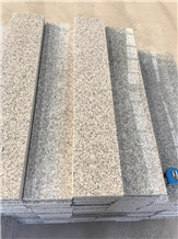 G603 Stairs Project Chinese Granite Grey