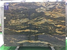 Brazil Fusion Black Granite Polished Tiles & Slabs
