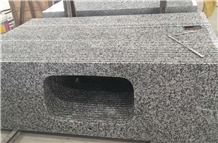 G439 a White Flower Granite Polished Countertops