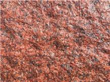 India Imperial Red Granite Quarry Rocks & Blocks