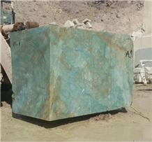 Iran Montage Green Granite Quarry Blocks & Rocks