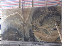 Iran Smoky Grey Onyx Polished Wall Tiles & Slabs