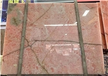 Italy Onice Rosa Pink Onyx Polished Backlit Slabs