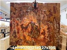 Turkey Onice Sultano Onyx Gold Polished Big Slabs