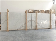 White Estremoz Bookmatch, Calacatta Portugal Marble Slabs