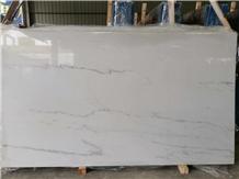Linken White Marble Slabs ,Tajikistan White Marble